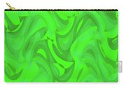 Abstract Waves Painting 0010101 Carry-all Pouch