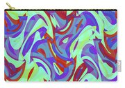 Abstract Waves Painting 0010102 Carry-all Pouch