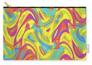 Abstract Waves Painting 0010109 Carry-all Pouch