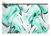 Abstract Waves Painting 0010111 Carry-all Pouch