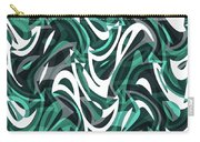 Abstract Waves Painting 0010112 Carry-all Pouch
