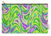 Abstract Waves Painting 0010113 Carry-all Pouch