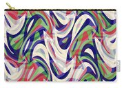 Abstract Waves Painting 0010118 Carry-all Pouch