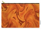 Abstract Waves Painting 001451 Carry-all Pouch