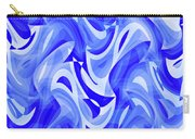 Abstract Waves Painting 007183 Carry-all Pouch