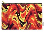 Abstract Waves Painting 007185 Carry-all Pouch