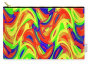 Abstract Waves Painting 007192 Carry-all Pouch