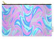 Abstract Waves Painting 007197 Carry-all Pouch