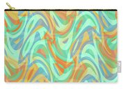 Abstract Waves Painting 007202 Carry-all Pouch