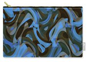 Abstract Waves Painting 007203 Carry-all Pouch