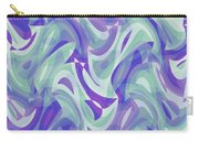 Abstract Waves Painting 007217 Carry-all Pouch