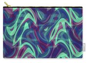 Abstract Waves Painting 007219 Carry-all Pouch