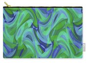 Abstract Waves Painting 007221 Carry-all Pouch