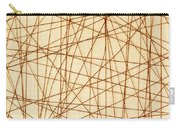 Abstract Web Background Carry-all Pouch
