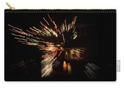 Abstracted Christmas - Luminous Fairy Lights Patterns Carry-all Pouch
