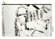 Accordion After Mikhail Larionov Black Ink Painting 1 Carry-all Pouch