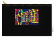 Acoustic Guitar Musician Player Metal Rock Music Color Carry-all Pouch