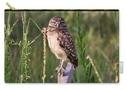Adult Burrowing Owl Carry-all Pouch