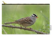 adult White-crowned Sparrow Carry-all Pouch