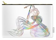 Aerial Hoop Dancing Ribbons For Her Hair Png Carry-all Pouch