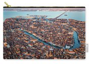 Aerial View Of Grand Canal, Venice, Italy Carry-all Pouch