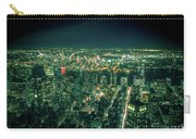 Aerial View Of Manhattan Skyline  Carry-all Pouch