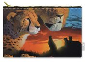African Cats Carry-all Pouch