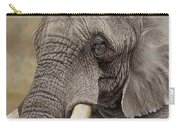 African Elephant Carry-all Pouch by Alan M Hunt