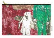 After Billy Childish Painting Otd 43 Carry-all Pouch