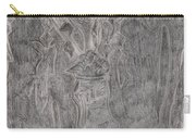 After Billy Childish Pencil Drawing 1 Carry-all Pouch