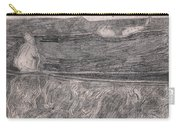 After Billy Childish Pencil Drawing 18 Carry-all Pouch