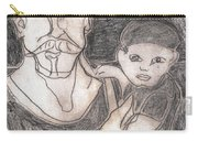 After Billy Childish Pencil Drawing 19 Carry-all Pouch