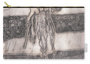 After Billy Childish Pencil Drawing 24 Carry-all Pouch