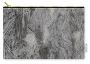 After Billy Childish Pencil Drawing 3 Carry-all Pouch