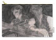 After Billy Childish Pencil Drawing 33 Carry-all Pouch