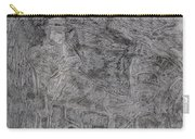 After Billy Childish Pencil Drawing 5 Carry-all Pouch