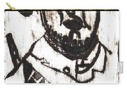 After Mikhail Larionov Black Oil Painting 2 Carry-all Pouch