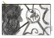 After Mikhail Larionov Pencil Drawing 13 Carry-all Pouch