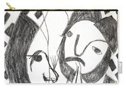 After Mikhail Larionov Pencil Drawing 14 Carry-all Pouch