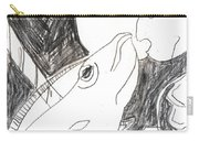 After Mikhail Larionov Pencil Drawing 6 Carry-all Pouch