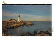 Afternoon Sun Over Portland Head Light Carry-all Pouch