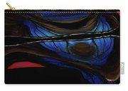 Aile De Papillon Bleu Carry-all Pouch