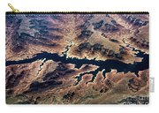 Air View Of The Grand Canyon Carry-all Pouch