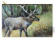 Alaska Elk Carry-all Pouch