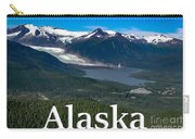 Alaska - Mendenhall Glacier And Auke Lake Carry-all Pouch