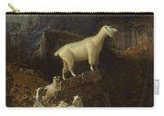 Albert_bierstadt_-_rocky_mountain_goats Carry-all Pouch