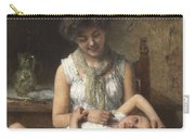 Alexei Harlamoff,  Portraif Of Sisters Carry-all Pouch