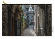Alleys Of San Marino Carry-all Pouch by Jaroslaw Blaminsky