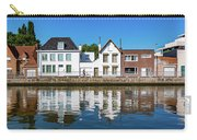 Along The Canal. Flanderenfietsroute.   Carry-all Pouch
