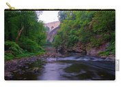 Along The Wissahickon At The Henry Avenue Bridge Carry-all Pouch